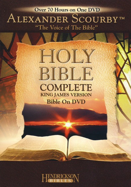 KJV Complete Bible on DVD